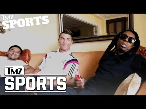 Lil Wayne Signs Cristiano Ronaldo To His Sports Marketing Co