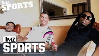 Lil Wayne Signs Cristiano Ronaldo To His Sports Marketing Company | TMZ Sports