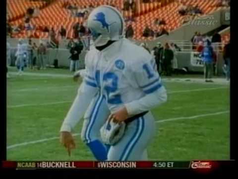 1991 Detroit Lions Football Highlights