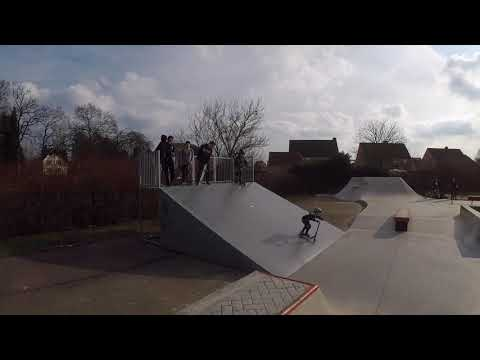 New skatepark Tessenderlo 18/02/2018