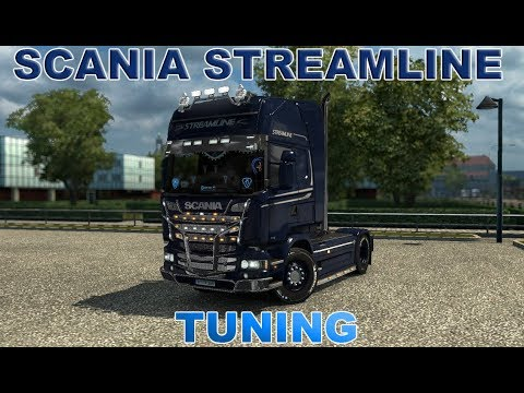 Euro Truck Simulator 2 І SCANIA STREAMLINE І TUNING