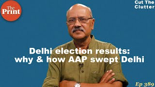 Delhi Election Results: Here's why & how AAP swept Delhi