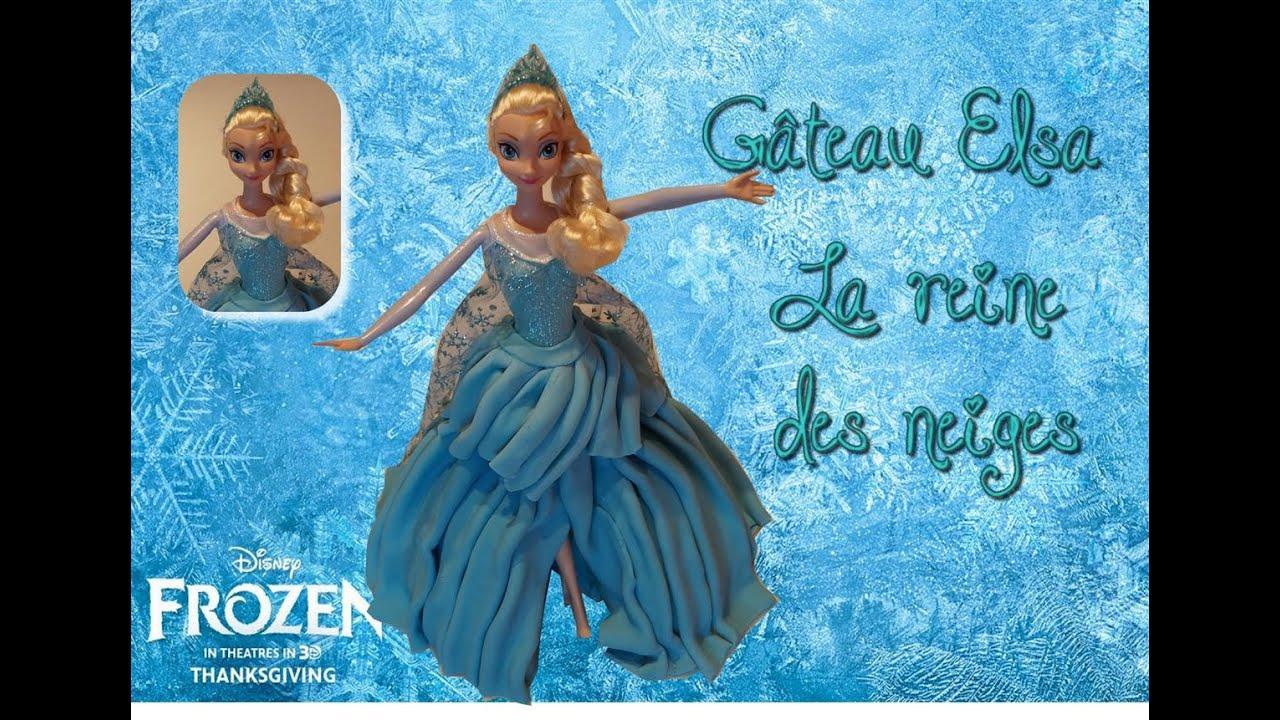 Recette gateau elsa reine des neiges frozen cake cake - Chateau elsa reine des neiges ...