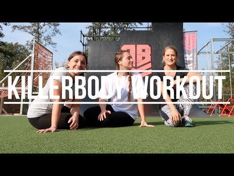 Killerbody Workout bij De Bunk'r - Rotterdam