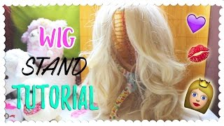 DIY - Tutorial per Cosplayers - STAND per Parrucche! WIG STAND