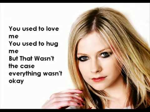 Avril Lavigne-Losing Grip Lyrics