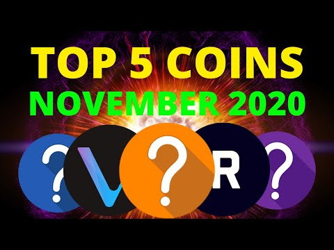 TOP 5 ALTCOINS FOR HUGE GAINS IN NOVEMBER | Crypto Gems 2020