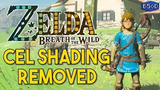 The Legend of Zelda Breath of the Wild | Cel Shading Removed