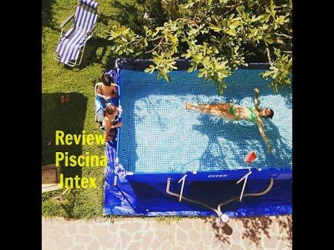 Intex piscina 4 5 x 2 2 review como montar uma piscina for Piscina 4 x 2