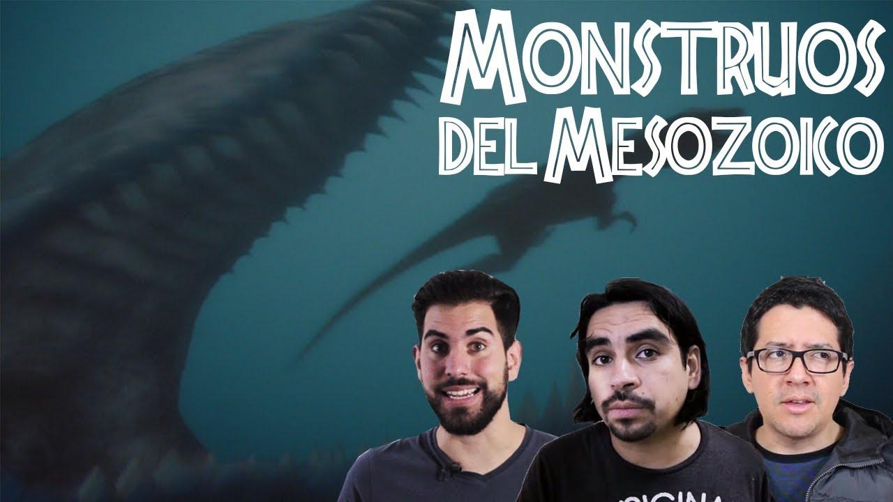 Los Monstruos del Mesozoico (con El Robot de Platón y Sígueme la Corriente)