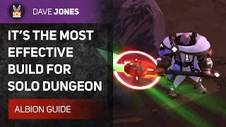 ALBION ONLINE - 💪THE MOST EFFECTIVE BUILD FOR SOLO DUNGEONS. #GREATAXE GUIDE.