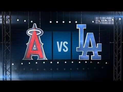8/2/15: Dodgers sweep Angels behind Ethier's heroics