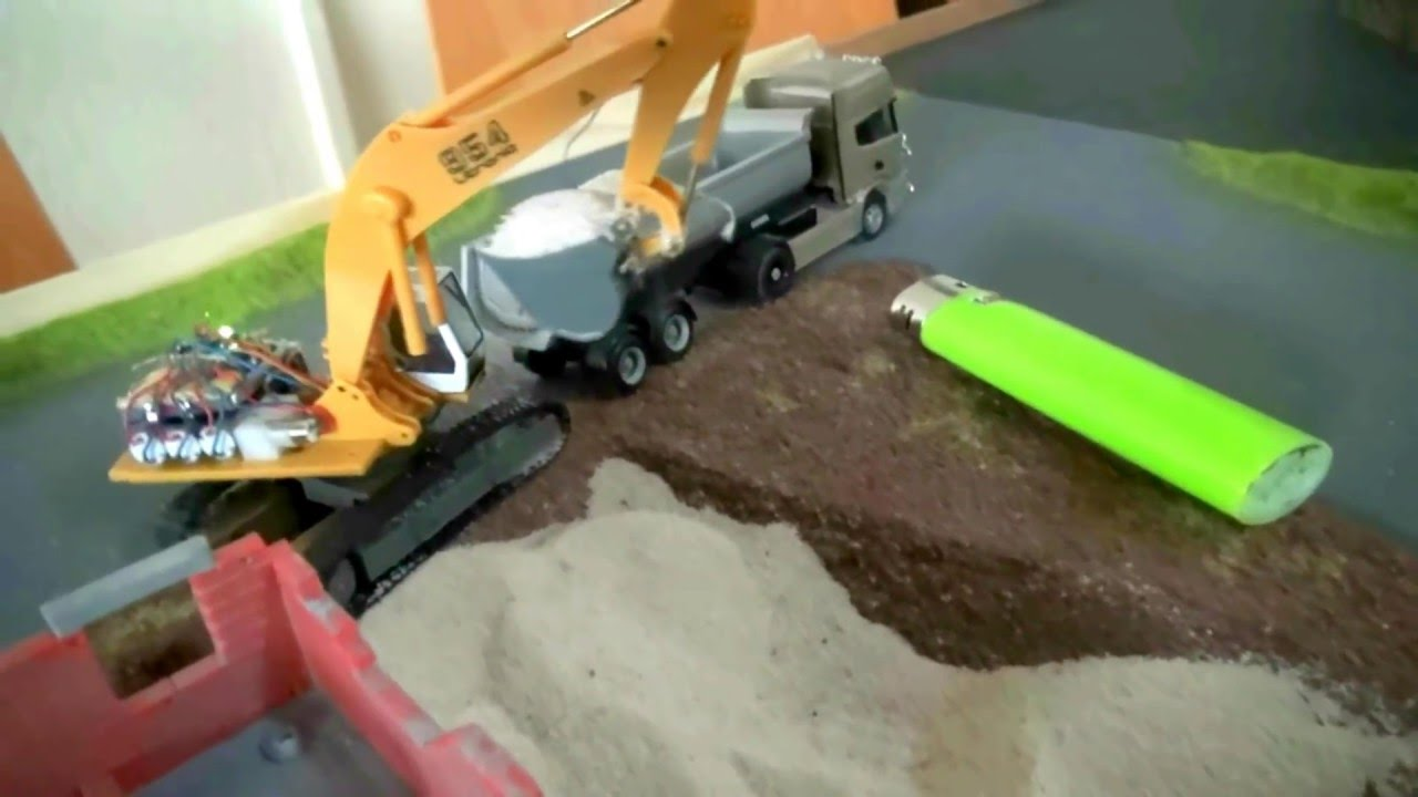 MICRO EXCAVATOR SCALE 1 87 must see