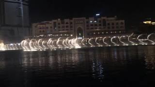 Burj khalifa dancing fountain HD All night long