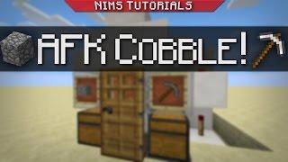 NIMSTUT - AFK Cobblestone Generator (SKYBLOCK + 1.9-1.11+)