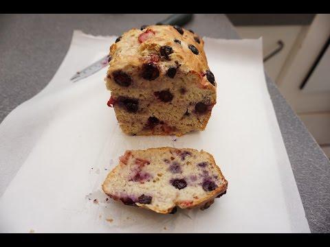 How to make Strawberry Blueberry Banana bread