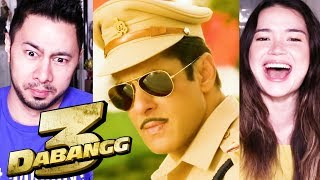DABANGG 3 | Salman Khan | Sonakshi Sinha | Prabhu Deva | Trailer Reaction by Jaby & Achara!