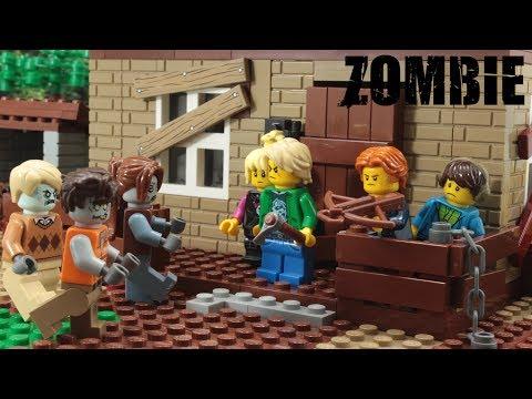 Lego Zombie Outbreak Episode 8 Stop Motion Animation