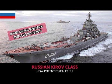 RUSSIAN KIROV CLASS -  FULL ANALYSIS !!