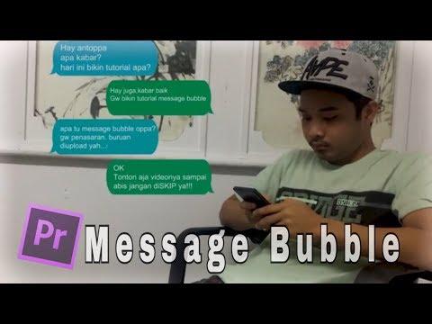 Tutorial Bubble Text Di Adobe Premiere Pro CC 2017