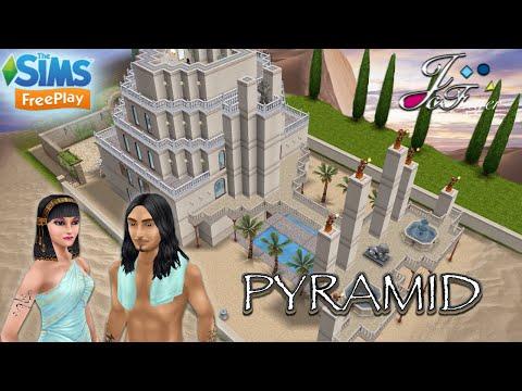 The Sims FreePlay 🇪🇬 ⛰| EGYPTIAN PYRAMID |⛰🇪🇬 By Joy.