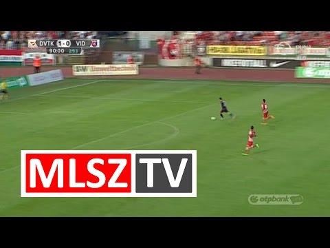 Filipe Oliveira gólja a DVTK - Videoton mérkőzésen