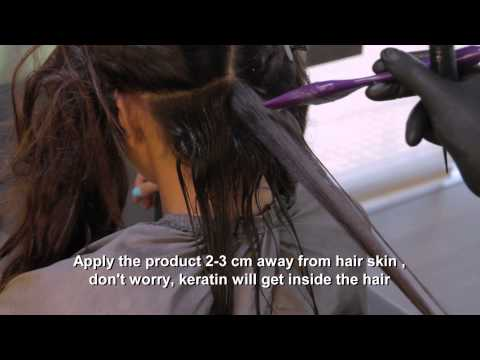 Brazilian Keratin Treatment (Step By Step) By Angelopoulos Hair Company - Greece