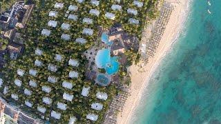 IBEROSTAR Aerial review of Grand Hotel Bavaro | Bavaro Suites | Punta Cana | Dominicana
