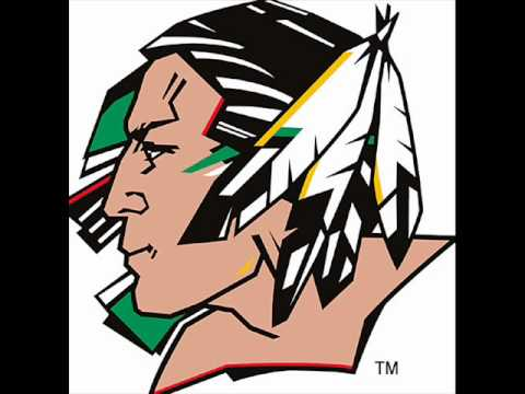 North Dakota Fighting Sioux goal horn (OFFICIAL)