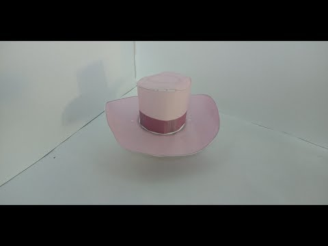 How to make hat by paper.🎩diy hat by paper.👒