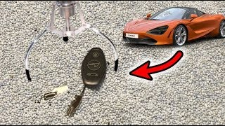 WON CAR KEYS FROM CLAW MACHINE *MCLAREN 720s SUPERCAR* | JOYSTICK