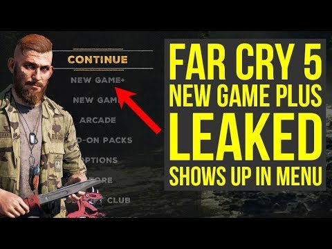Far Cry 5 New Game Plus LEAKED, shows up in menu (New Game Plus Far Cry 5 Update)