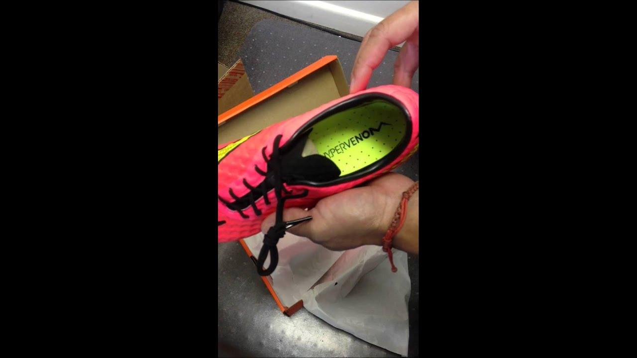 392a5050a0a First look  Unboxing Nike Hypervenom Phantom FG - Hyper Punch 2014 ...