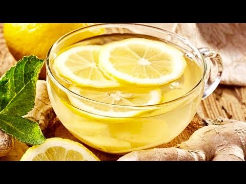Drink A Glass Of Lemon And Ginger Tea Every Morning, THIS Wi