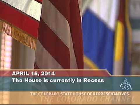 Colorado House 2014 Legislative Day 98