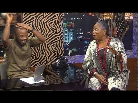 ONYEKA ONWENU AMAZING TIME ON THE NIGHT SHOW