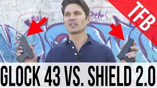 Glock 43 Versus Smith & Wesson Shield (1.0 and 2.0): Which is a Better Carry 9mm?