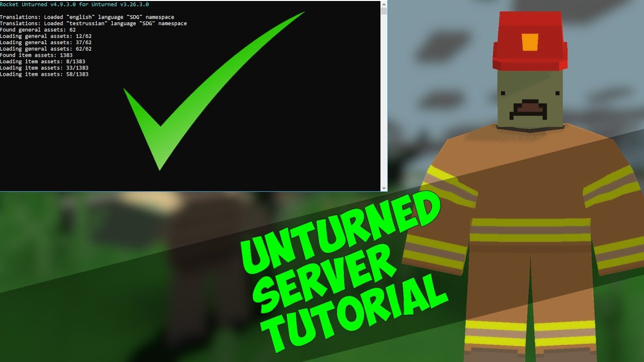 HOW TO MAKE YOUR OWN UNTURNED SERVER! | 2018 | HOW TO HOST
