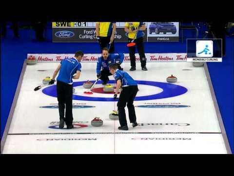 Sky sport 24 sull'Italia ai mondiali maschili di Curling ad Halifax