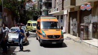 وصول  جثامين 9  مصريين قتلوا فى ليبيا لمشرحة زينهم