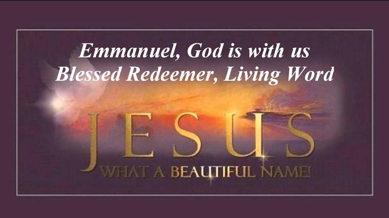 Words Say Jesus Christ Lord