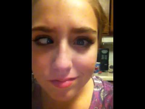Girls Eyes Can Go In Two Different Directions At One Time