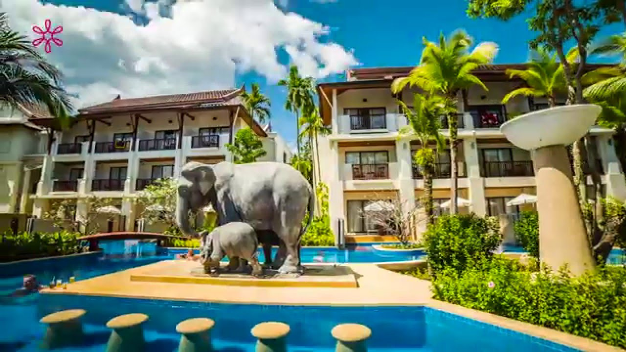 Apsara Beachfront Resort And Villa Thailand Youtube