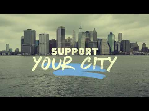 Your city gets up.