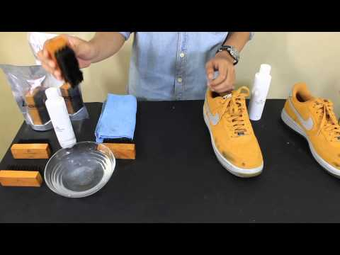 Andrrows - How to clean suede or nubuck
