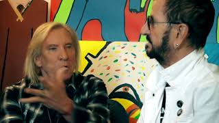 """Ringo Starr & Friends Recording """"Gotta Get Up To Get Down"""" 