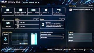 Настройки Bios ASUS TUF Gaming FX504 для успешной установки Hackintosh