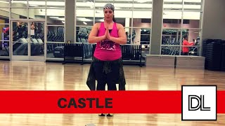Castle by Halsey || Easy, original cooldown routine for dance fitness, hip hop, or zumba class