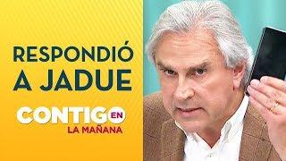 Iván Moreira a alcalde Jadue: