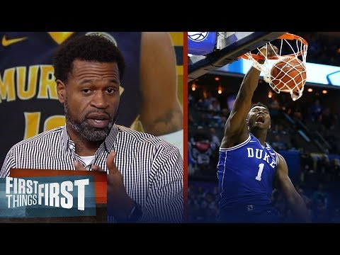 Stephen Jackson examines how Zion and Morants game translate to the NBA | NBA | FIRST THINGS FIRST